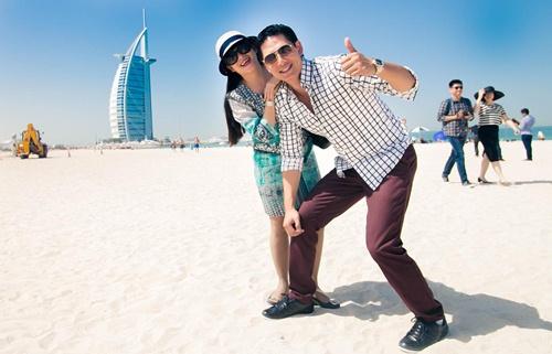 Thủy Tiên sành điệu bên Noo Phước Thịnh tại Dubai-9