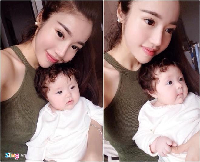 Elly Trần đã có con hơn 2 tháng với bạn trai Tây - 1