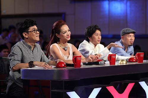 """vn's got talent: thi sinh hung bien, bgk """"nhan mat"""" - 4"""
