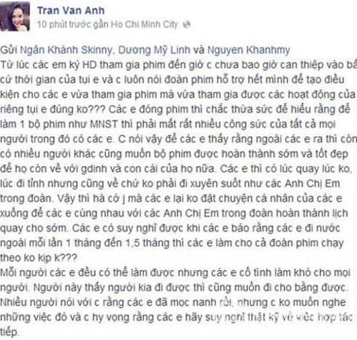 Loạt sao Việt bị trách mắng vì thiếu chuyên nghiệp-8