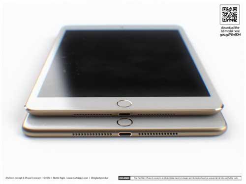 ban dung ipad mini 3 canh bo tron giong iphone 6 - 1