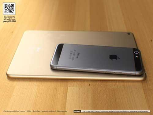 ban dung ipad mini 3 canh bo tron giong iphone 6 - 2