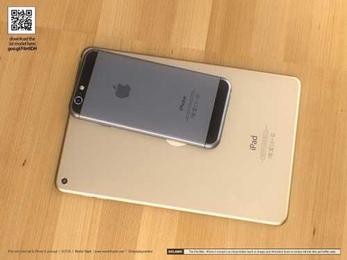 ban dung ipad mini 3 canh bo tron giong iphone 6 - 4