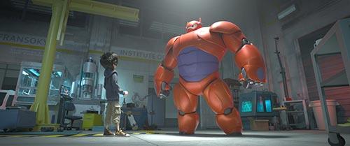 """trailer day vui nhon cua """"biet doi big hero 6"""" - 2"""