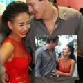 Làng sao - Thảo Trang bối rối khi được bạn trai Tây hôn