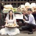 Tình yêu - Giới tính - Cặp đôi chụp ảnh cưới giữa chợ bình dân gây chú ý