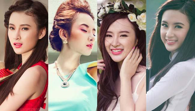 Angela Phương Trinh sở hữu rất nhiều nét đẹp trên gương mặt