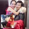Chae Rim được chồng quỳ gối đi giày trong đám cưới