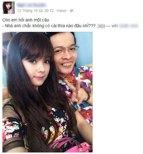 """ngam gai xinh ben trai vau lam """"dien dao"""" cu dan mang - 1"""