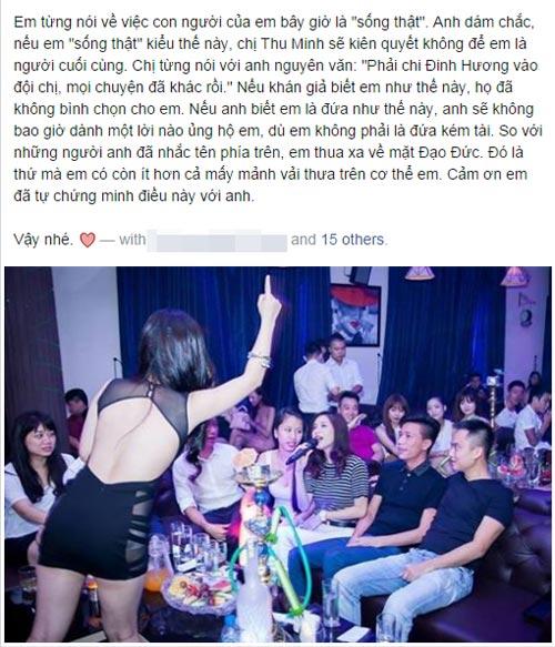 """huong tram cong khai """"da deu"""" hot blogger - 3"""