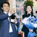 Làng sao - Song Seung Hun và Lưu Diệc Phi tươi rói bên nhau