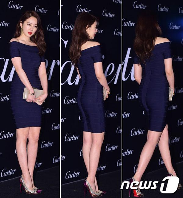 """yoon eun hye khoe duong cong """"danh bat"""" ha ji won - 1"""