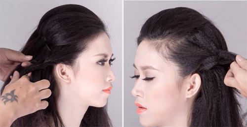 2 kiểu tóc cô dâu đẹp rạng rỡ khiến chú rể ngất ngây - 3
