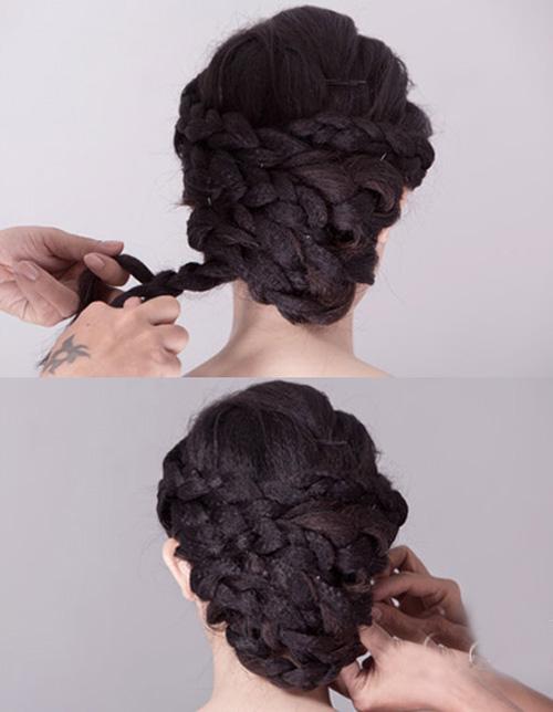 2 kiểu tóc cô dâu đẹp rạng rỡ khiến chú rể ngất ngây - 5