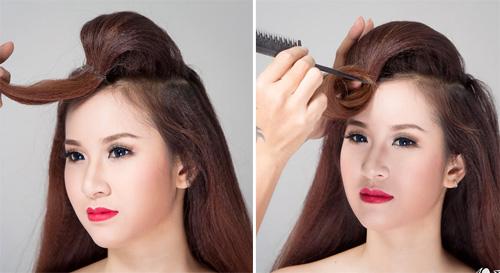 2 kiểu tóc cô dâu đẹp rạng rỡ khiến chú rể ngất ngây - 8