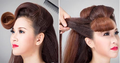 2 kiểu tóc cô dâu đẹp rạng rỡ khiến chú rể ngất ngây - 9