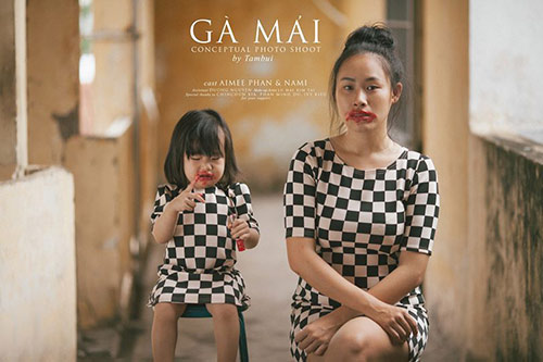 "bo anh day sau lang ve cuoc song  cua ""ga mai"" cham con - 2"