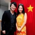 Làng sao - Thu Minh, Thanh Bùi giản dị đi tuyên truyền