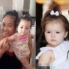 Làng sao - Con gái Đoan Trang tóc buộc chỏm