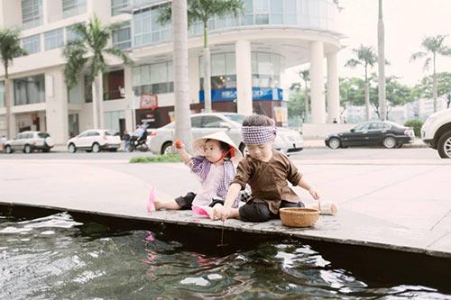 """con ly hai hoa """"nong dan len tinh"""" sieu de thuong - 8"""