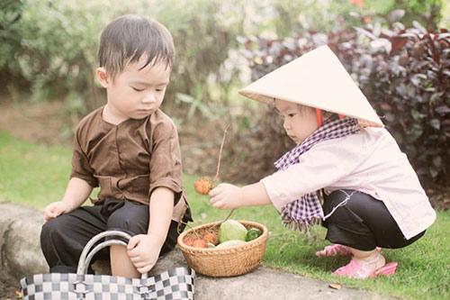 """con ly hai hoa """"nong dan len tinh"""" sieu de thuong - 3"""