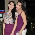Làng sao - Người đẹp Hải Vân xinh nổi bật bên Cindy Thái Tài