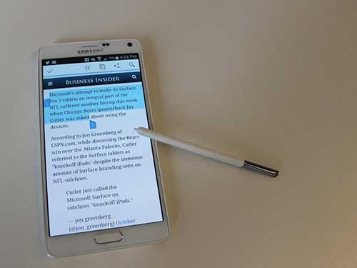 13 diem samsung galaxy note 4 an dut iphone - 8