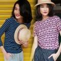 Thời trang - Kha Mỹ Vân nữ tính trong tiết trời chuyển thu