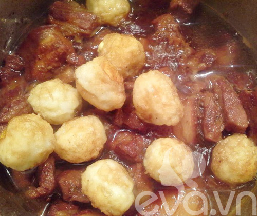 Thịt kho tàu đơn giản mà ngon cơm - 12