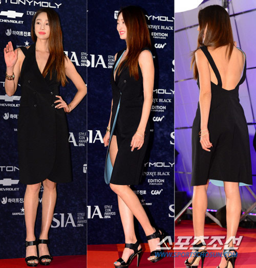 """my nu han """"danh cap"""" tham do style icon awards - 9"""