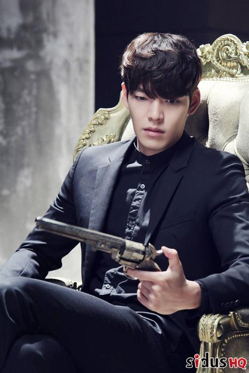 """kim woo bin dep trai """"chet nguoi"""" trong phim moi - 1"""