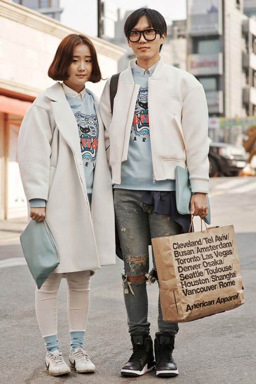 Young Korean fashion fever double - 10
