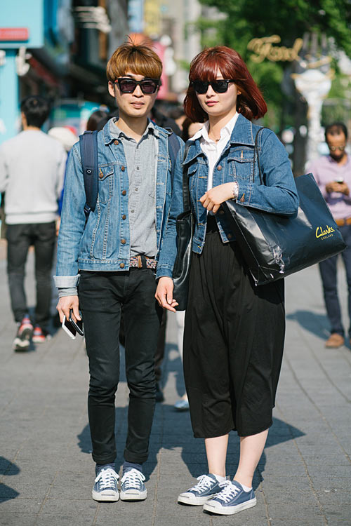Young Korean fashion fever Double - 2
