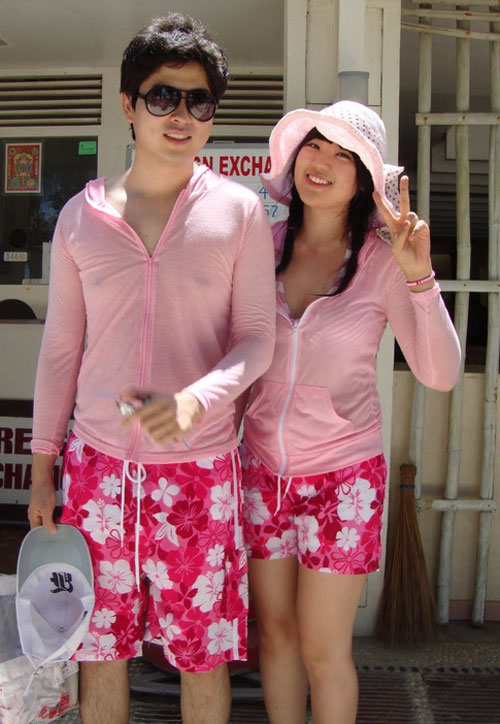 Young Korean fashion fever pair - 9