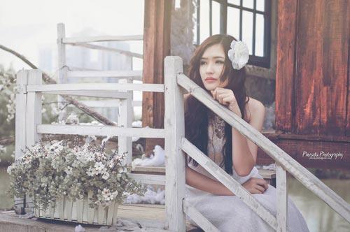 halloween: hot girl truong bao hoa co dau ma - 12