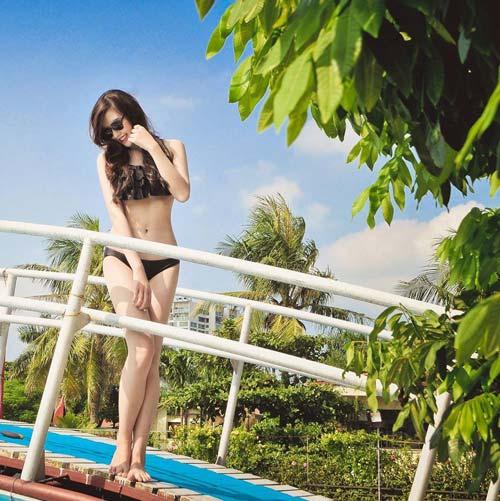 halloween: hot girl truong bao hoa co dau ma - 9
