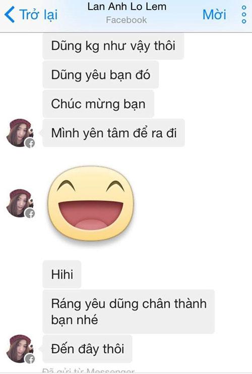 "tien dung: ""co gai do khong phai nguoi thu ba"" - 2"