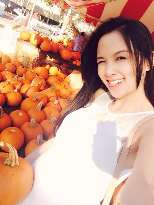 diem huong bung bau chon bi ngo cho halloween - 1