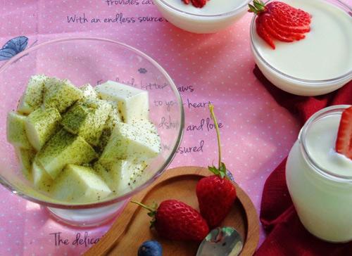 Cách làm sữa chua dẻo đơn giản cho chị em - 11