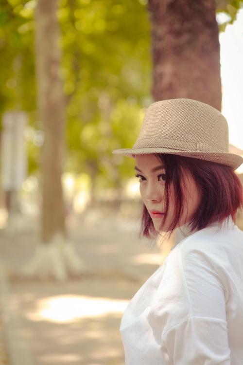 """vo chong che linh ve nuoc, hai yen idol """"xuong toc"""" - 10"""
