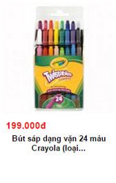 """nhung san pham """"hot"""" nhat tu crayola danh cho tre - 1"""