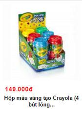 """nhung san pham """"hot"""" nhat tu crayola danh cho tre - 15"""