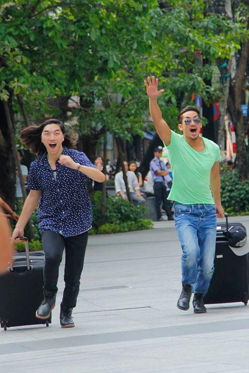 vntm 2014: thi sinh run ray catwalk o do cao 191m - 2