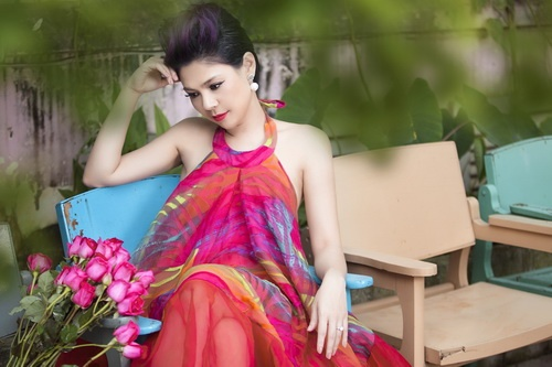 thanh thao khoe tron lung tran nuot na - 5