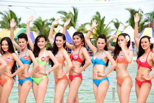 hhvn 2014: ngay ngat ngam thi sinh mac bikini - 4