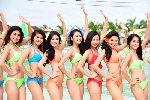 hhvn 2014: ngay ngat ngam thi sinh mac bikini - 6