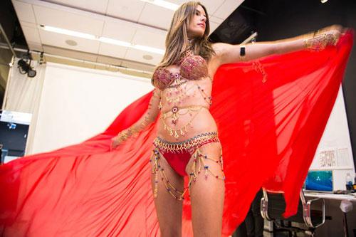 hot: he lo noi y nong bong cua victoria's secret show 2014 - 9
