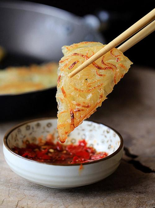 lam banh pancake khoai tay chi trong 15 phut - 5