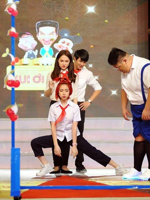 """phuong my chi dong kich, huong giang idol """"quay"""" tung bung - 8"""