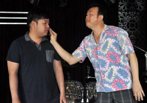 """phuong my chi dong kich, huong giang idol """"quay"""" tung bung - 3"""